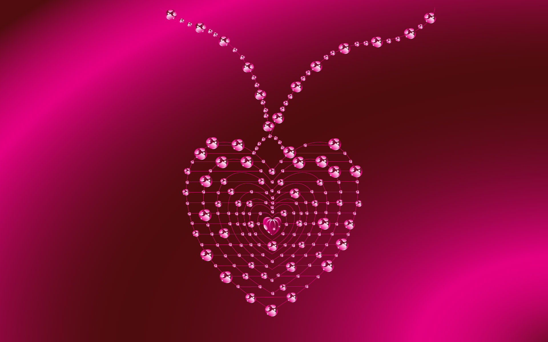 beautiful heart valentine day wallpaper1 1920x1200