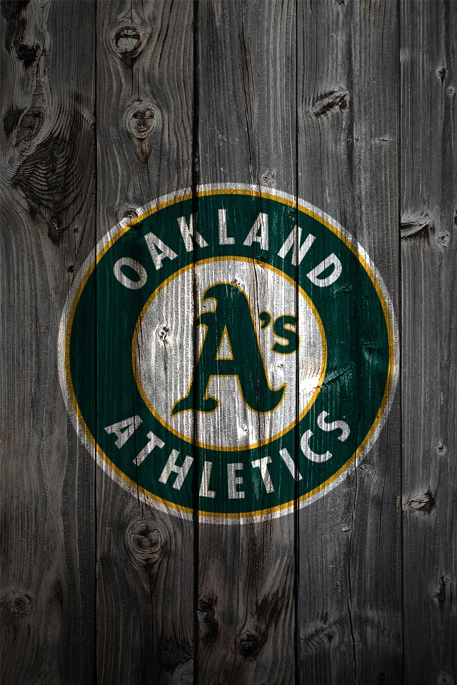 Oakland Athletics iPhone Wallpaper Background Iphone Wallpaper 640x960