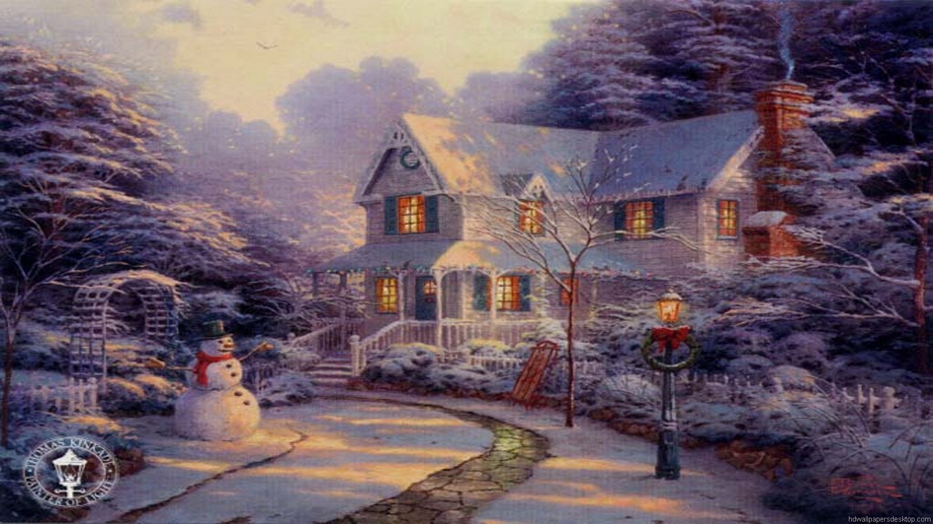 thomas kinkade wallpaper 1920x1080 - photo #16