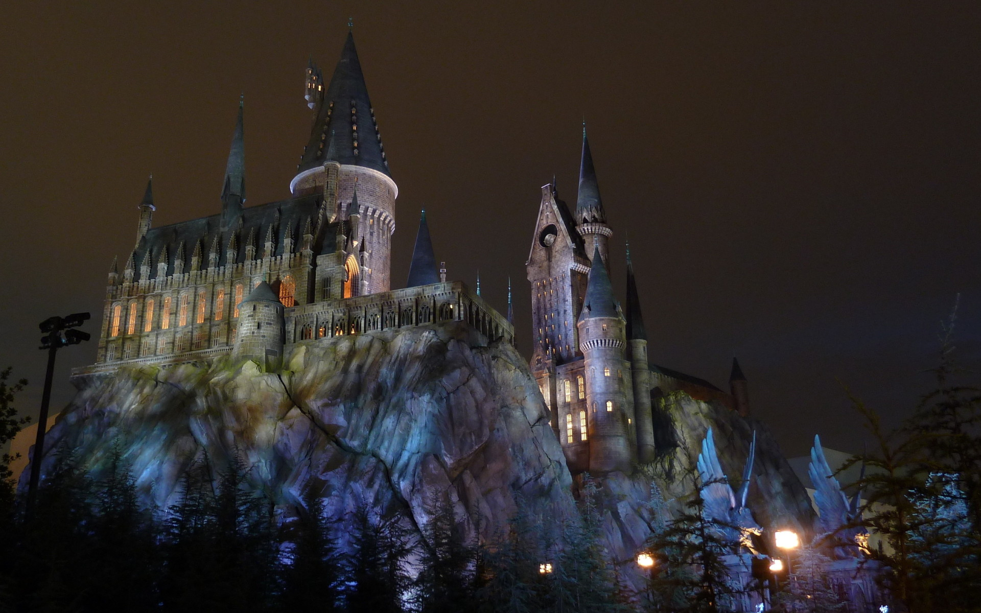 Harry Potter Hogwarts castle Desktop wallpapers 1920x1200 1920x1200