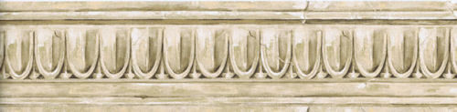 Egg Dart Crown Molding Stone Look Wallpaper Border 30706230 eBay 500x123