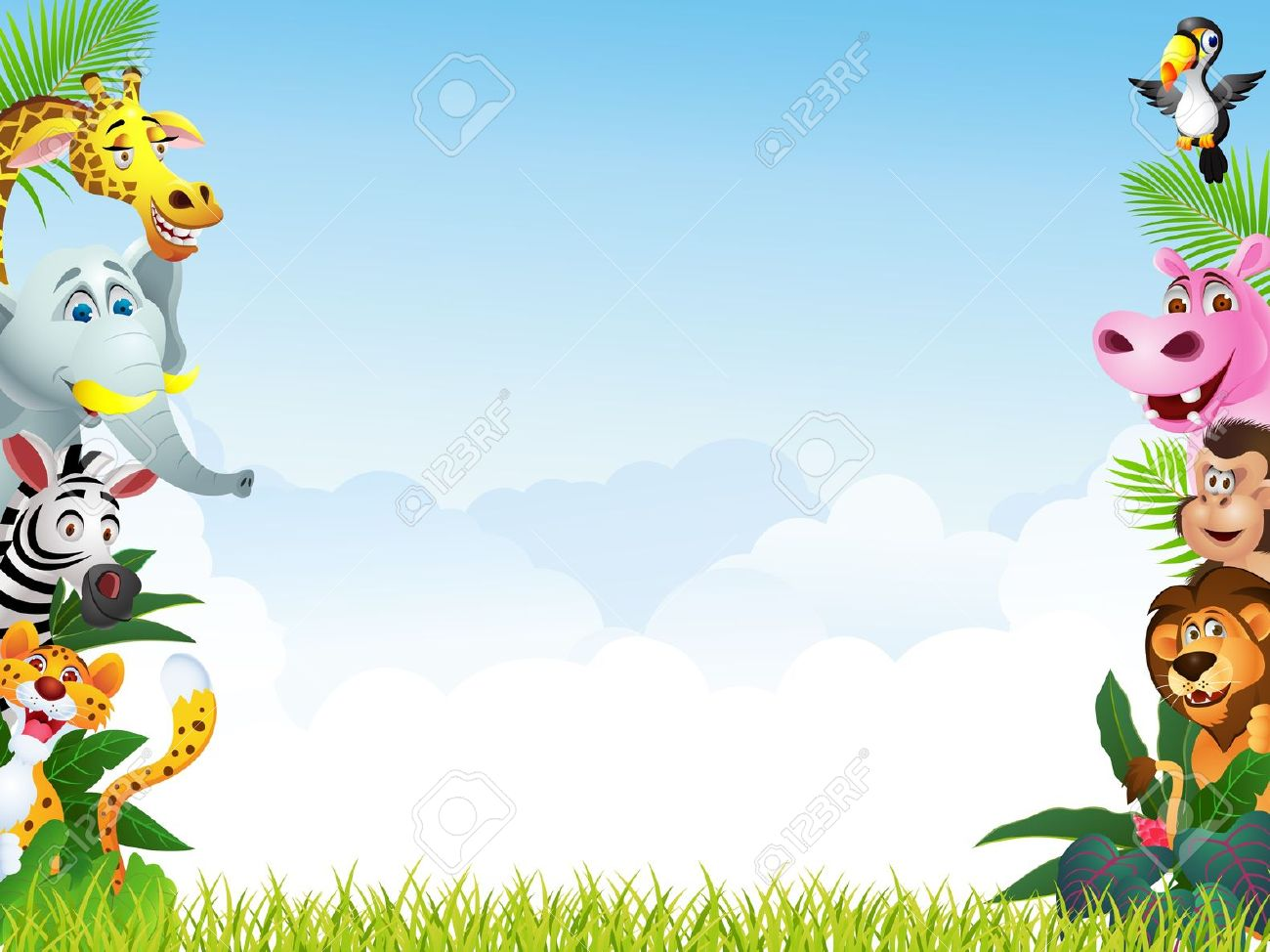 Animal Backgrounds Cliparts Download Clip Art 1300x974