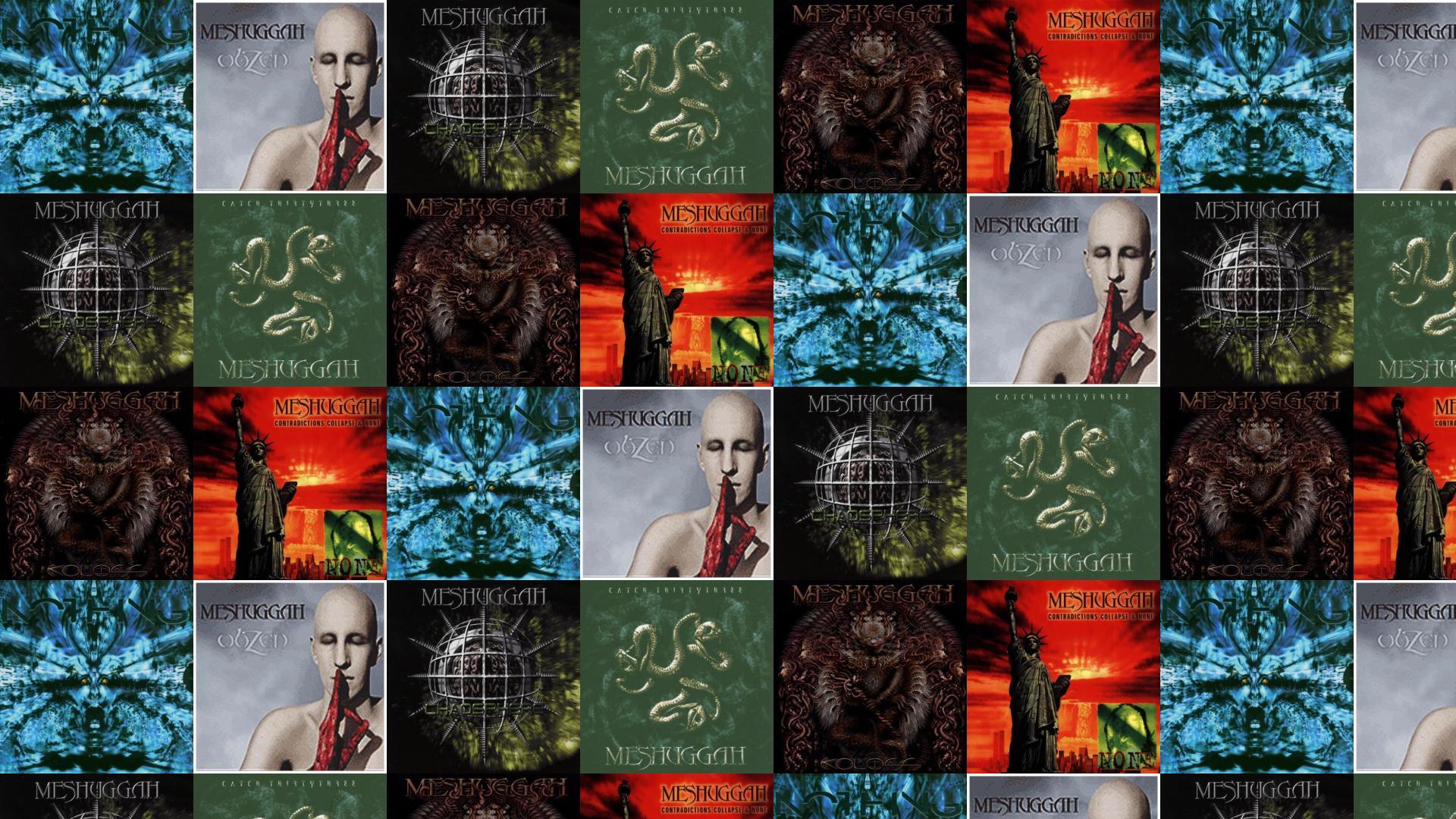 this wallpaper with images of Meshuggah Nothing Meshuggah 1920x1080