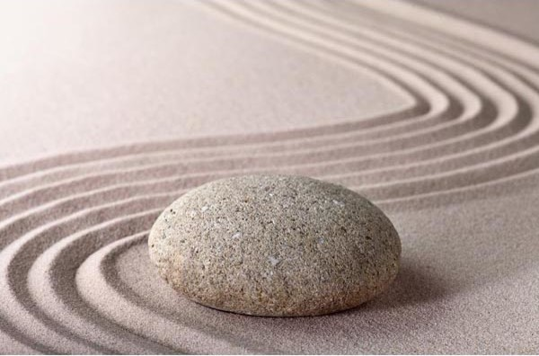 Zen Stone Wall Mural   Asian   Wallpaper   by Brewster Home Fashions 600x396