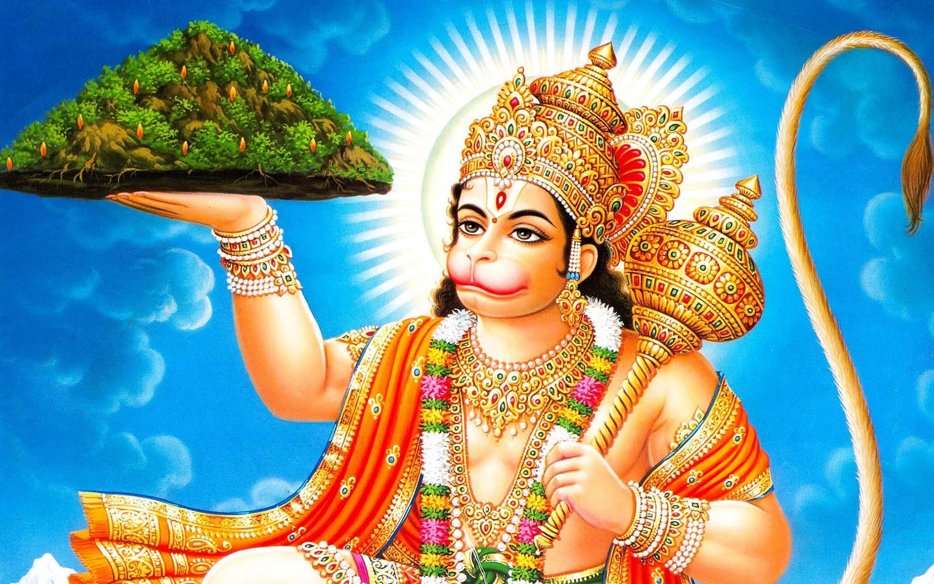 Baby Hanuman Wallpapers - WallpaperSafari