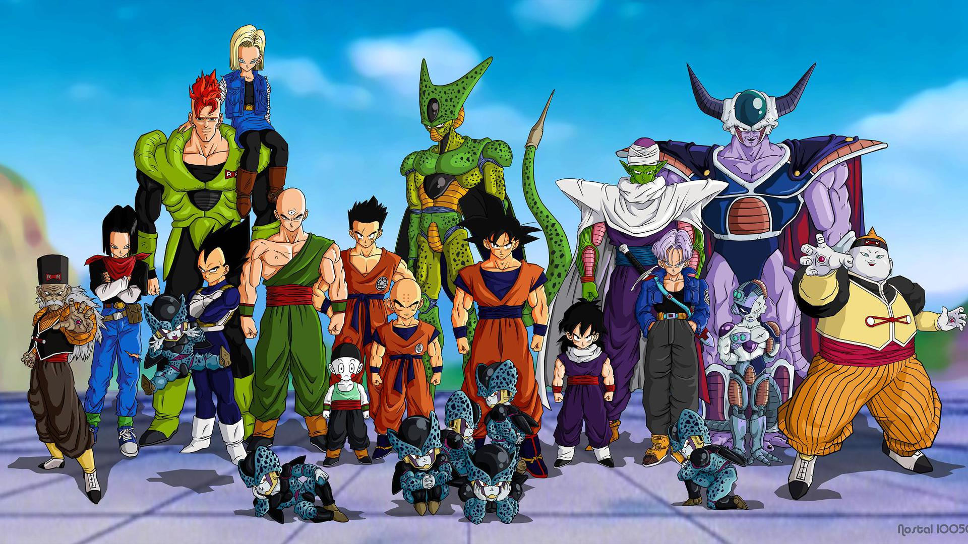 Dragon Ball Z Images HD Wallpaper of Anime 1920x1080