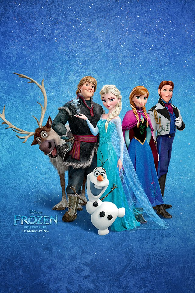 Frozen roles iPhone 4s Wallpaper Download iPhone Wallpapers iPad 640x960