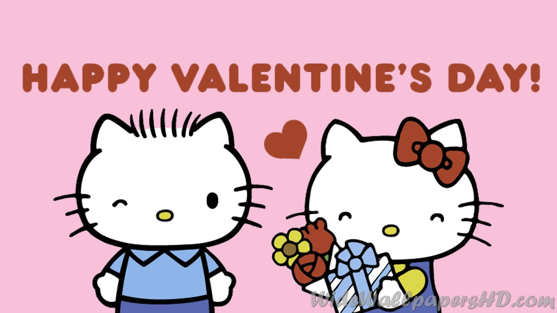 Hello Kitty Valentines Wallpapers 1920x1080