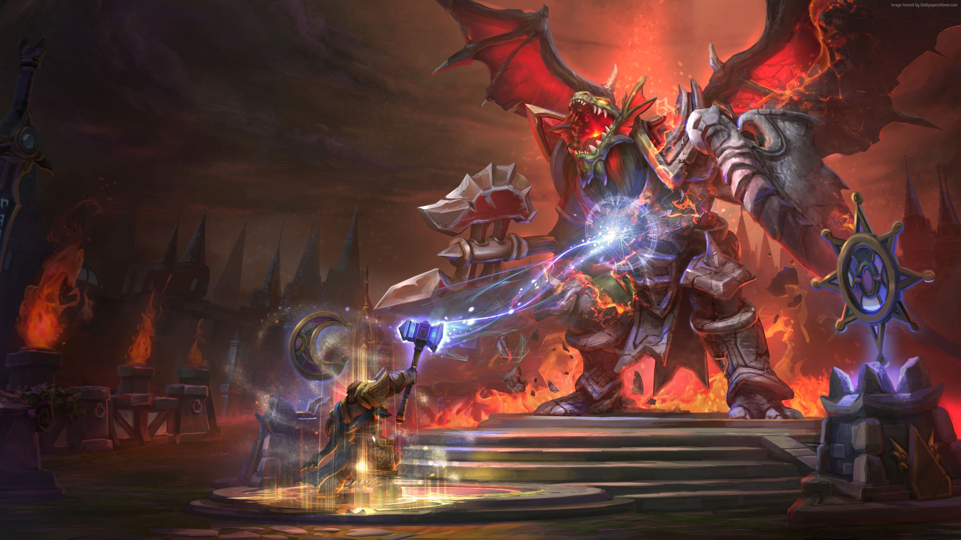 Free Download Heroes Of The Storm Wallpaper Games Strategy Heroes