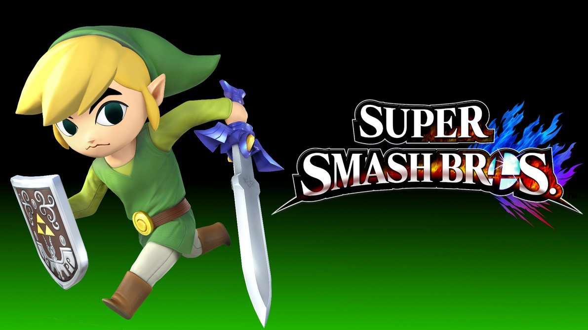 Part of a series of Smash Bros 4 wallpapers featuring all the 1191x670