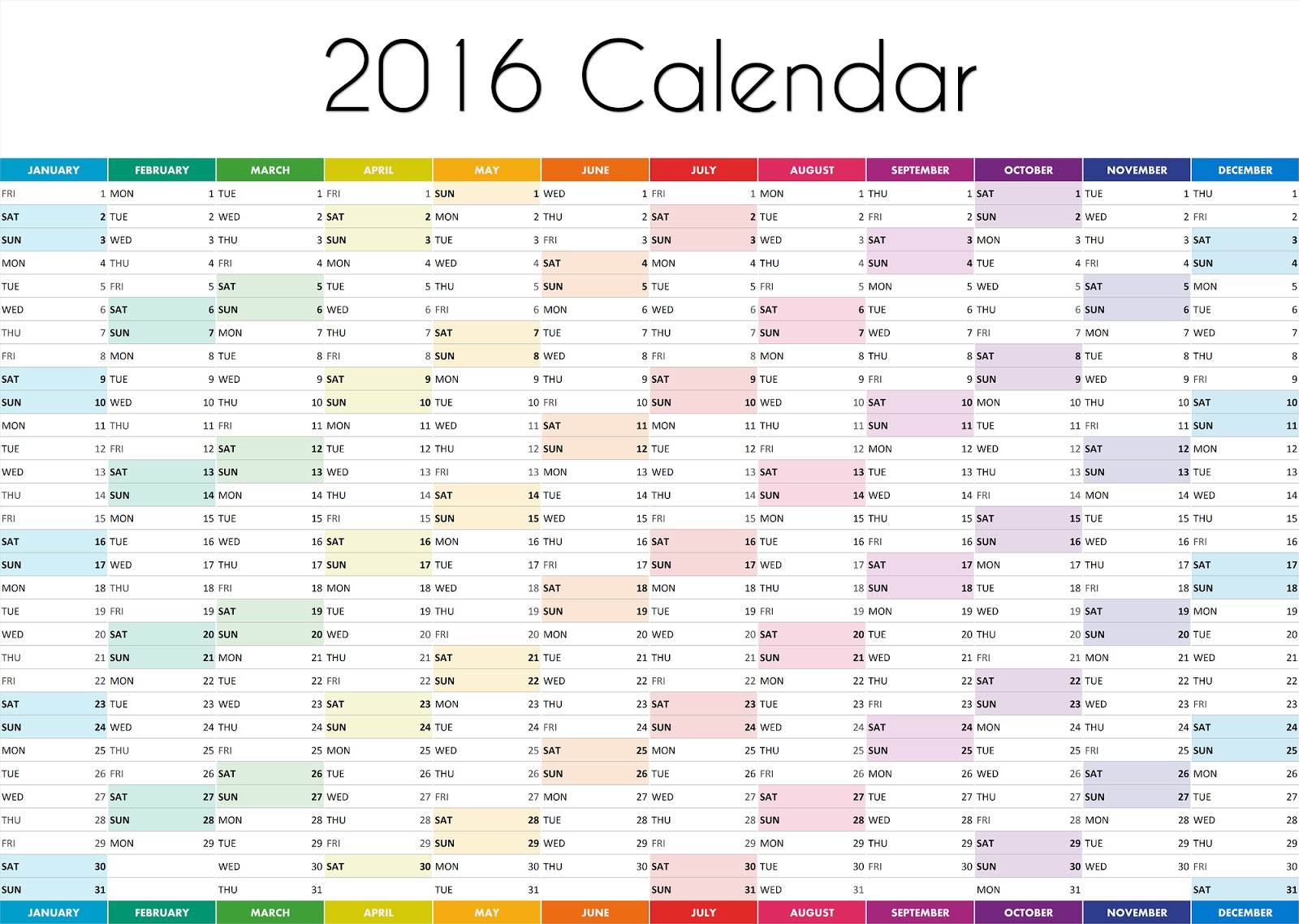 desktop wallpaper calendar 2016 wallpapersafari