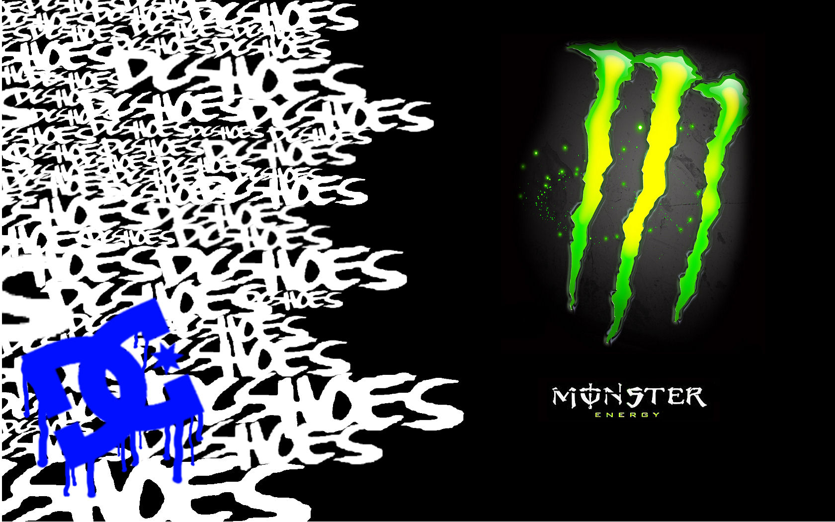 Monster DC Shoes Wallpaper wallpapers Monster DC Shoes Wallpaper 1680x1050