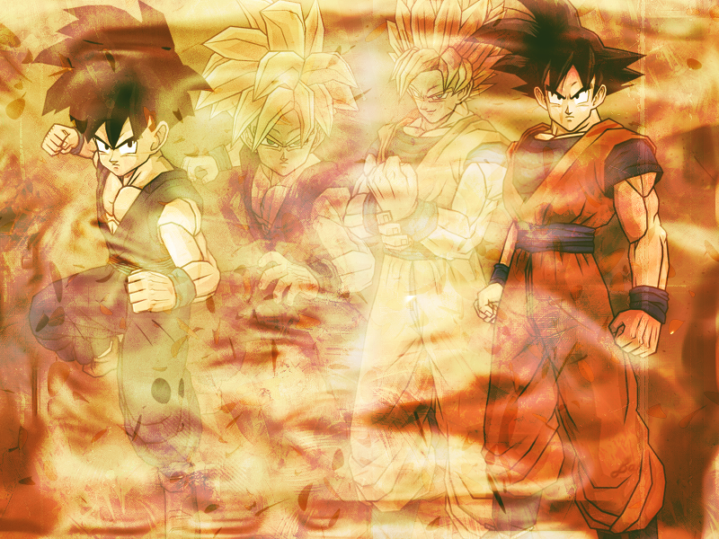 Goku and Gohan Wallpaper by Linkhare on deviantART 800x600