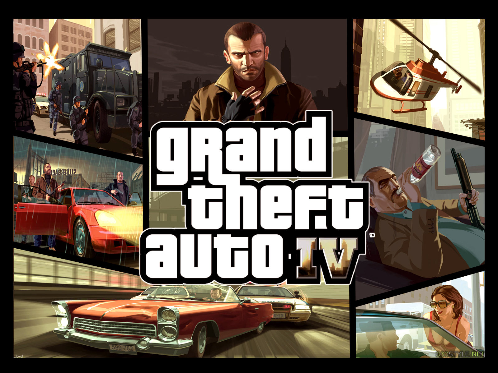 grand theft auto iv wallpaper by igotgame1075 fan art wallpaper games 1600x1200