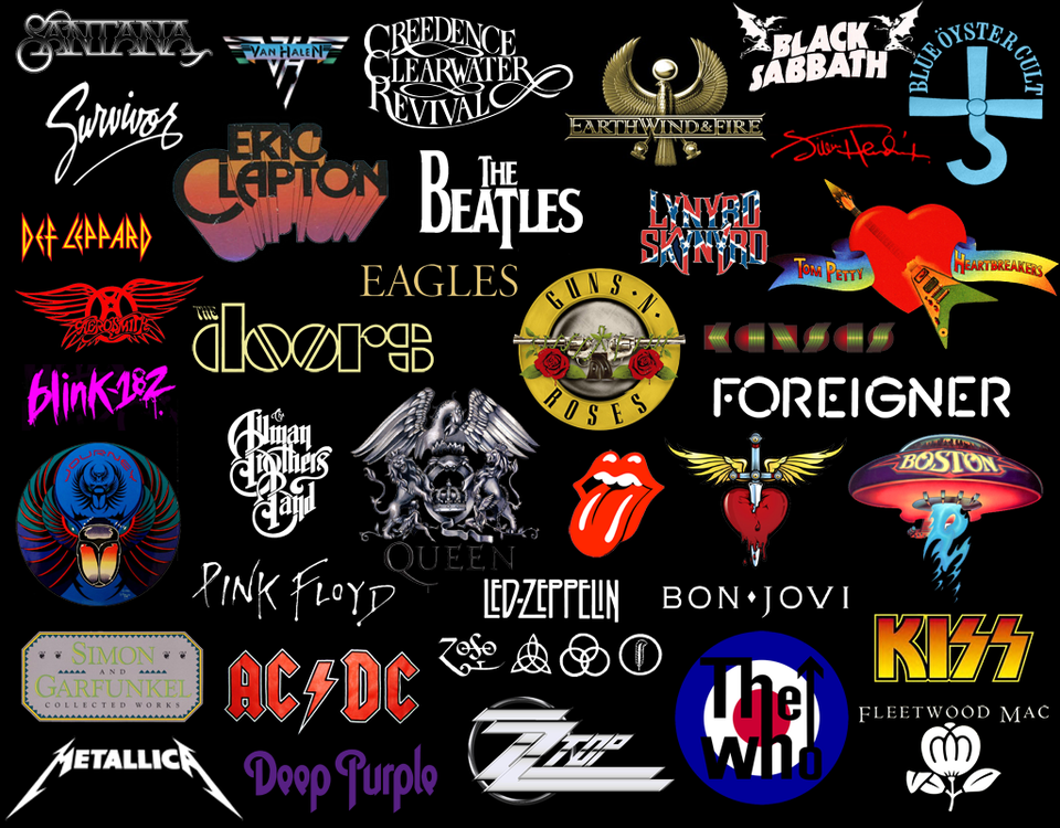 classic rock bands wallpaper wallpapersafari