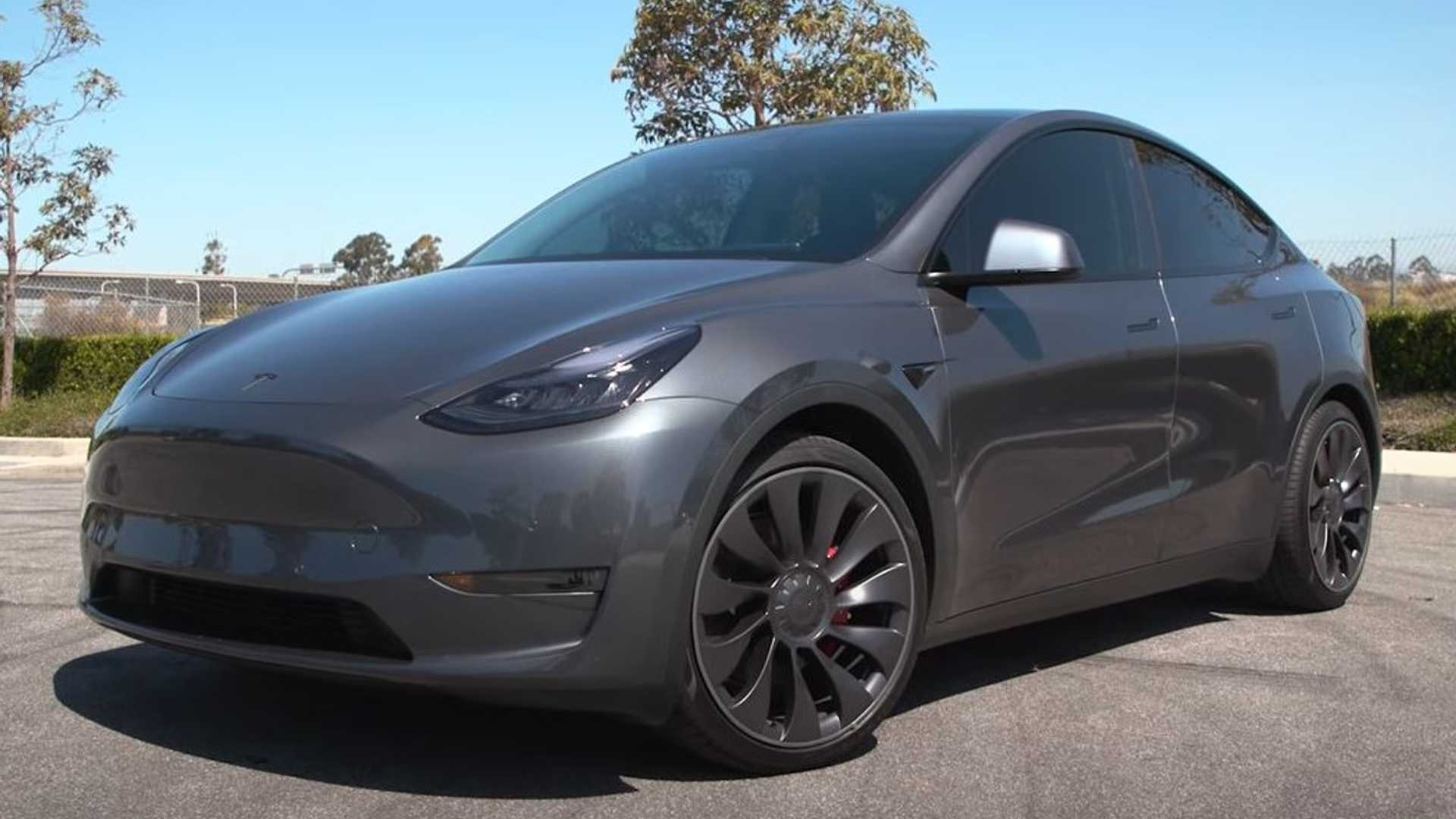 HD 2021 Tesla Model Y wallpapers and photos and images collection 1920x1080