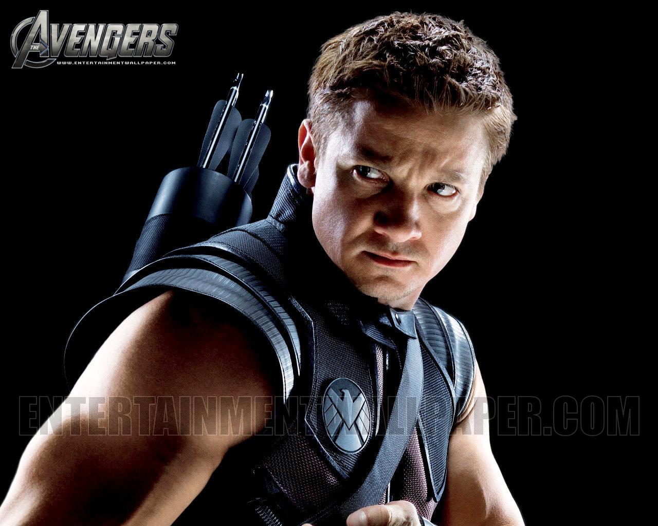 Hawkeye   The Avengers Wallpaper 30743586 1280x1024