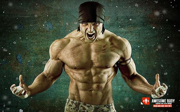 GYM Motivation Wallpaper Beast in Gym Bodybuilding pics 620x388