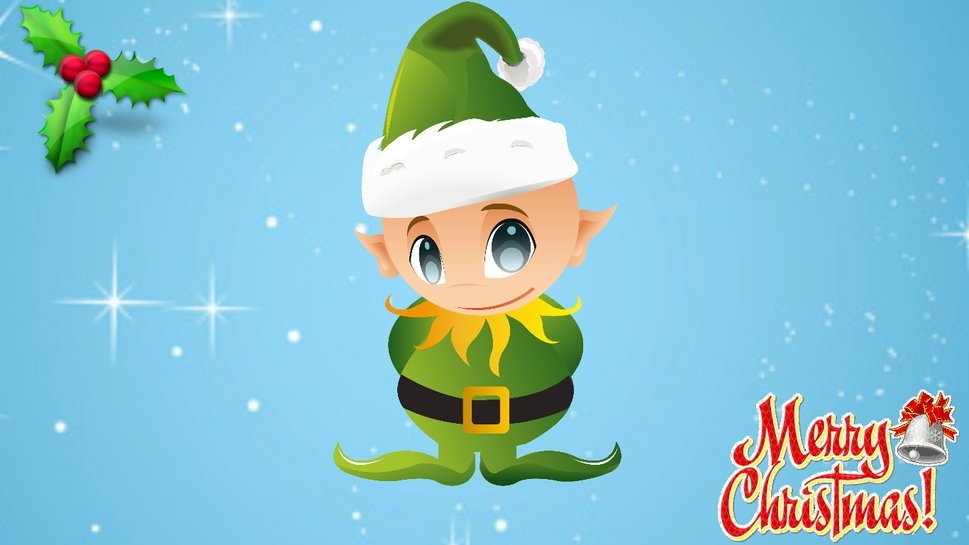 Christmas elves wallpaper wallpapersafari - Christmas elf on the shelf wallpaper ...