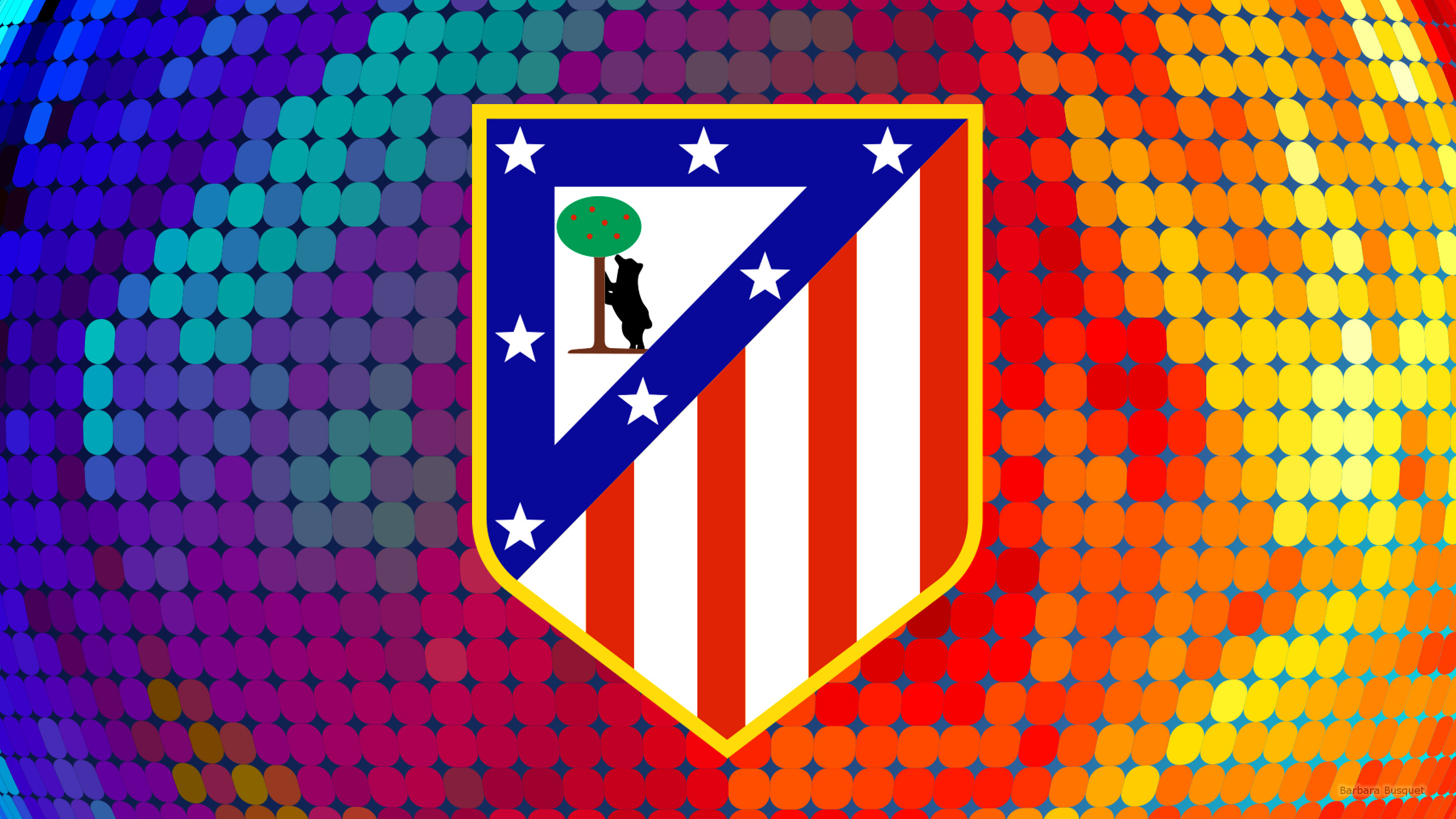 Atletico Madrid   Barbaras HD Wallpapers 2560x1440