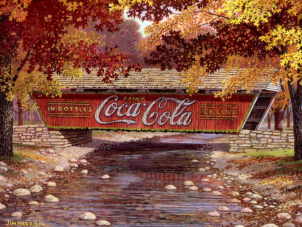 Coca cola wallpaper for home wallpapersafari - Vintage coke wallpaper ...