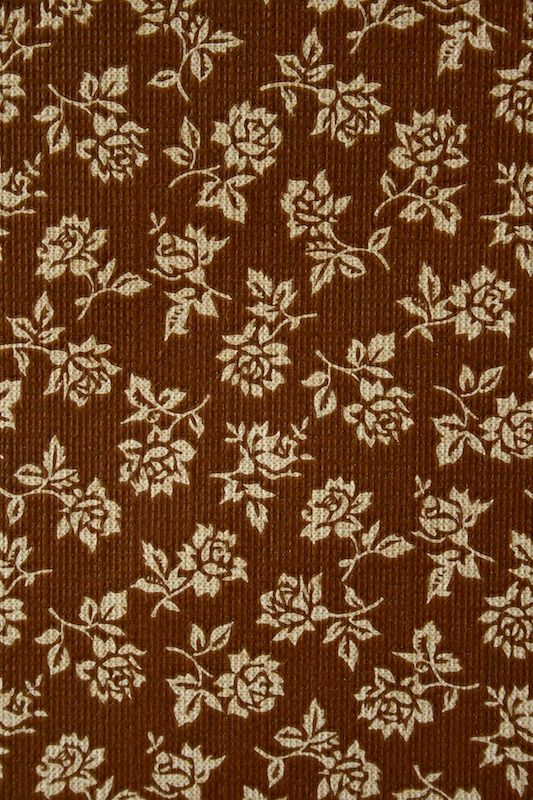 Small Pattern Floral Wallpaper Background Brown 533x800