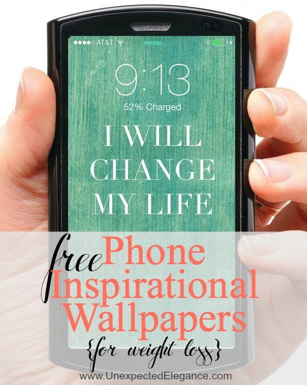 Inspirational phone wallpaper quotes wallpapersafari - Weight loss motivation backgrounds ...
