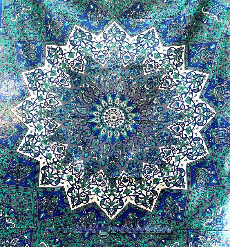 Black Light Nature Tapestry