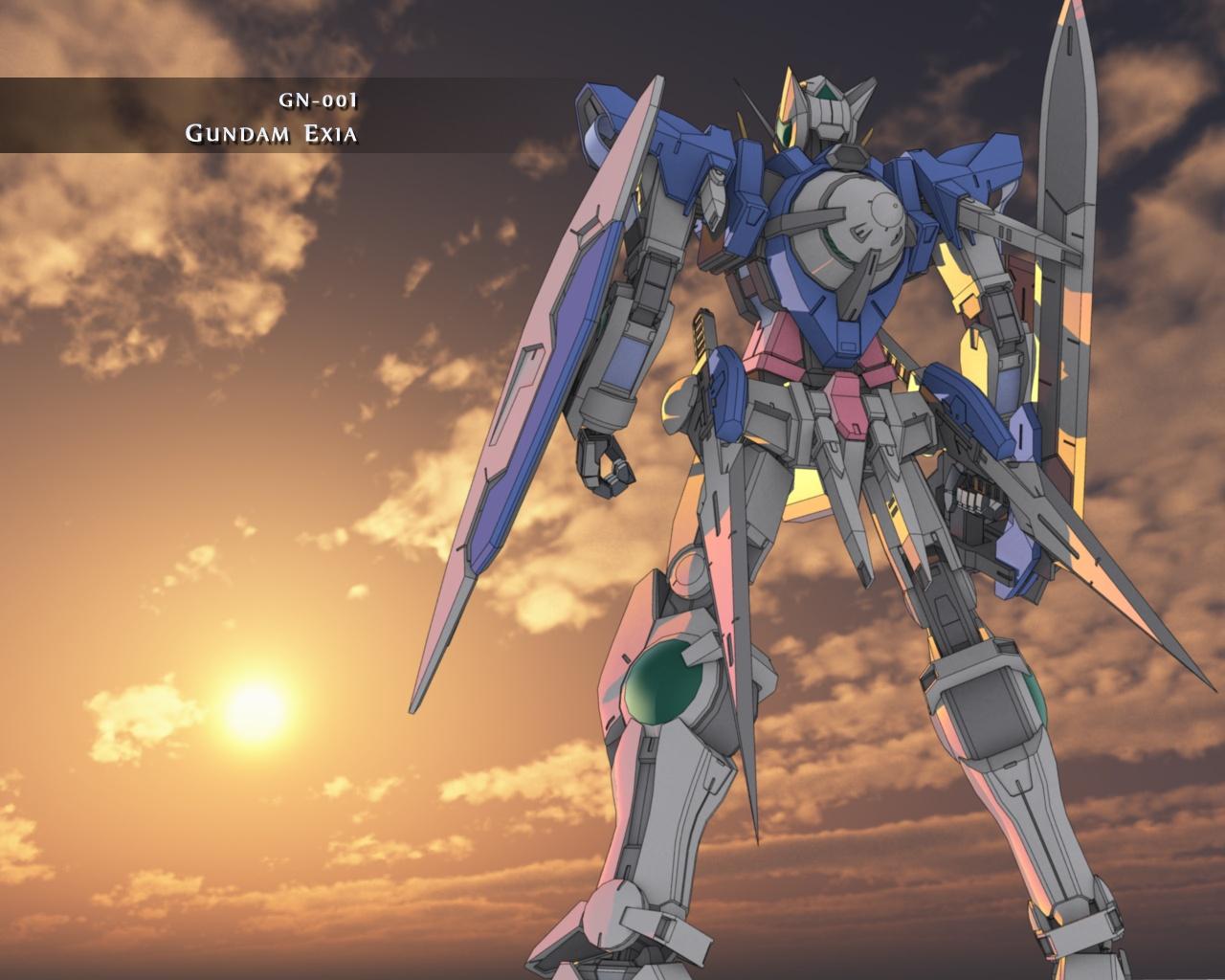 Gundam 00 Wallpaper 1280x1024 Gundam 00 1280x1024