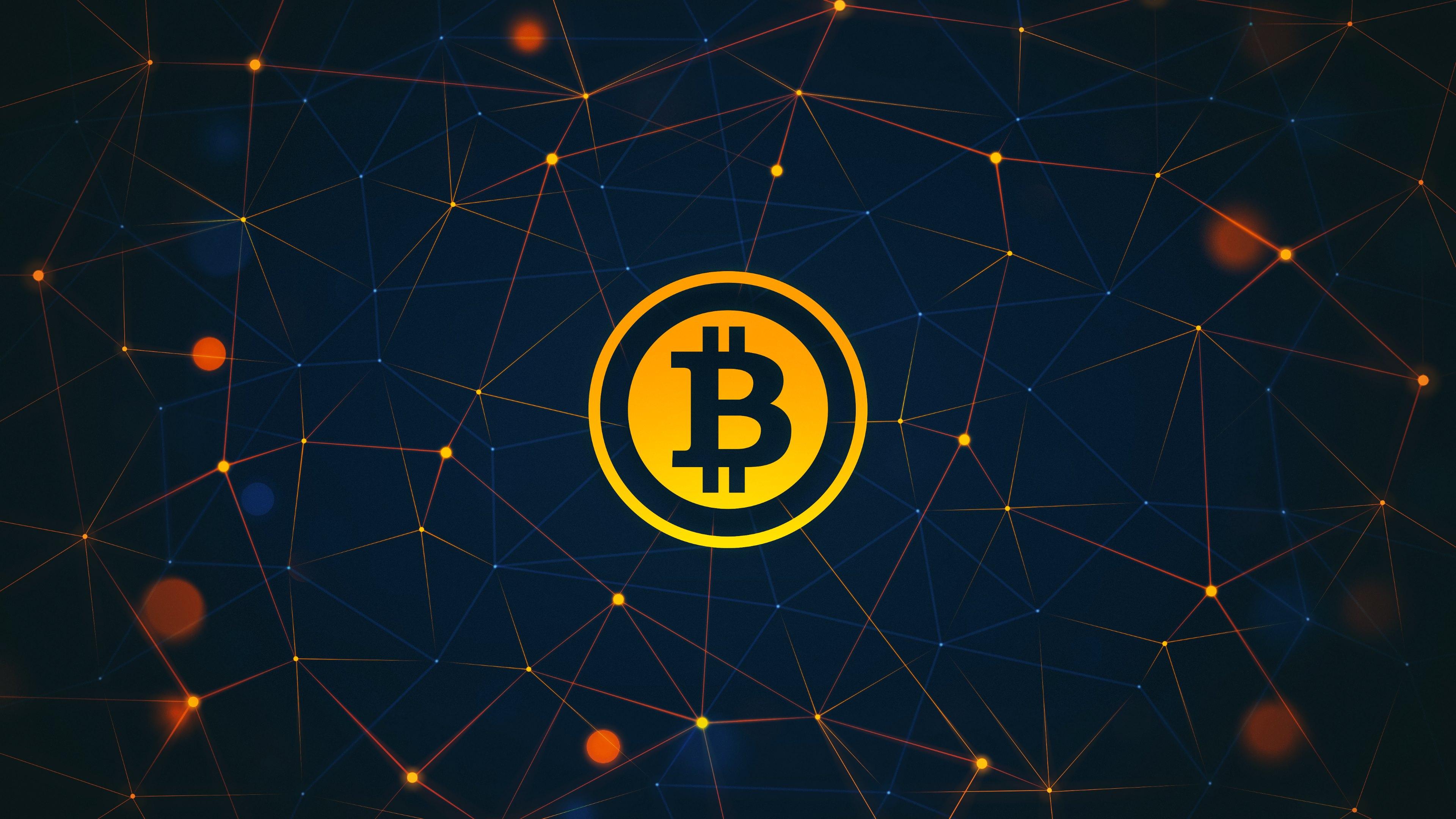 download Abstract Bitcoin Widescreen Wallpaper 62344 3840x2160