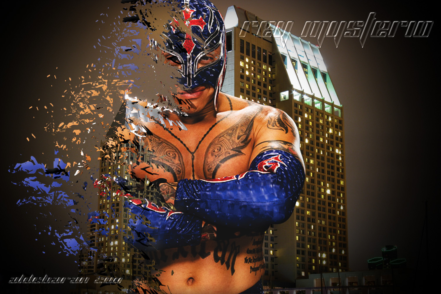 Free Download All Sports Players Wwe Rey Mysterio 619 New Hd