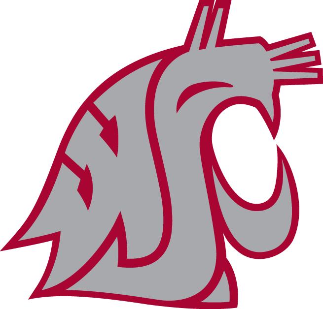 Washington State Cougars Logo WSU 655x628