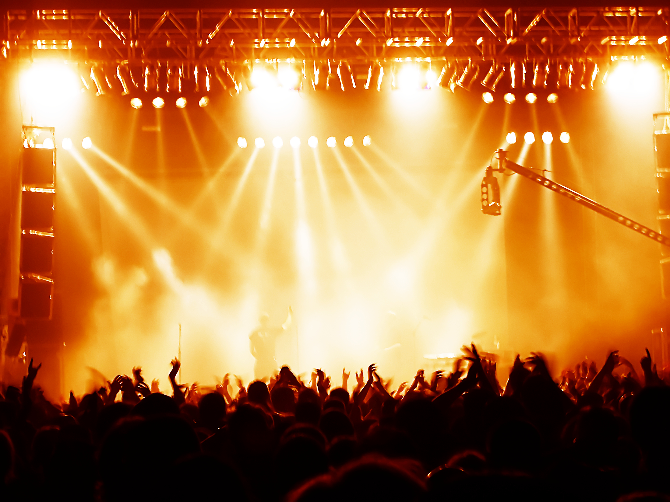 Top Rock Concert Background Wallpapers 2200x1650