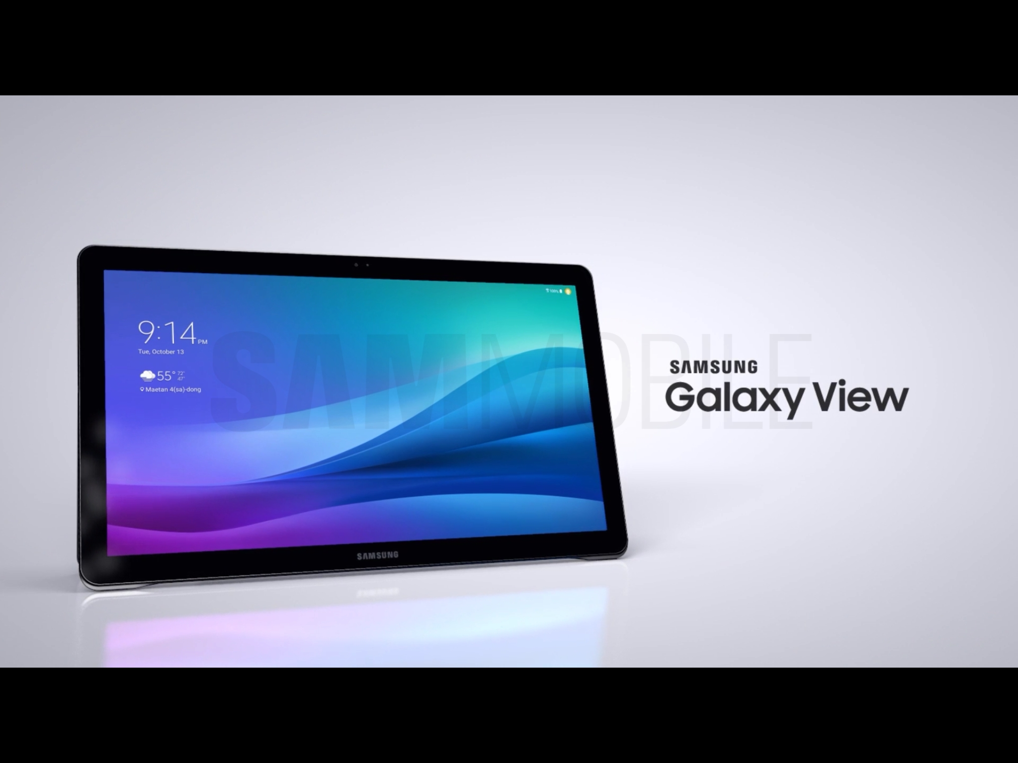 Samsungs huge Galaxy View tablet sells for 599 says preorder 2048x1536