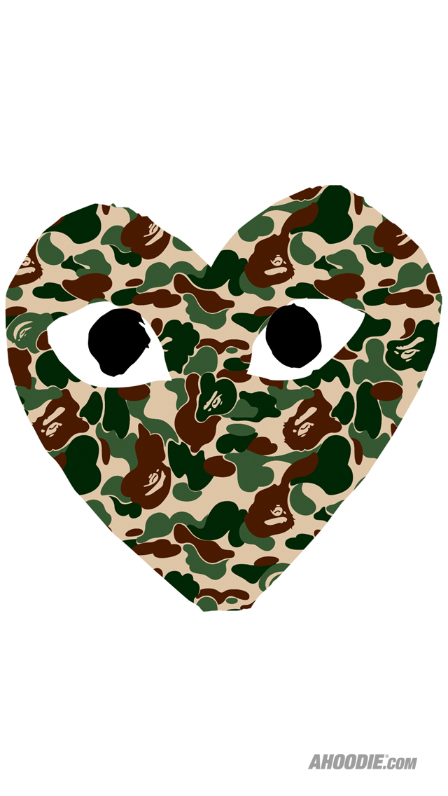 Free Download Bape Ahoodie Iphone Wallpaper Reg Bape Camo