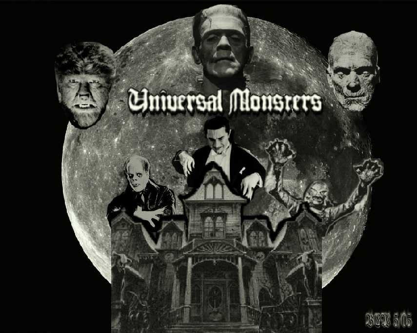 Universal Monster Wallpaper Universal monsters 2005 by 855x684