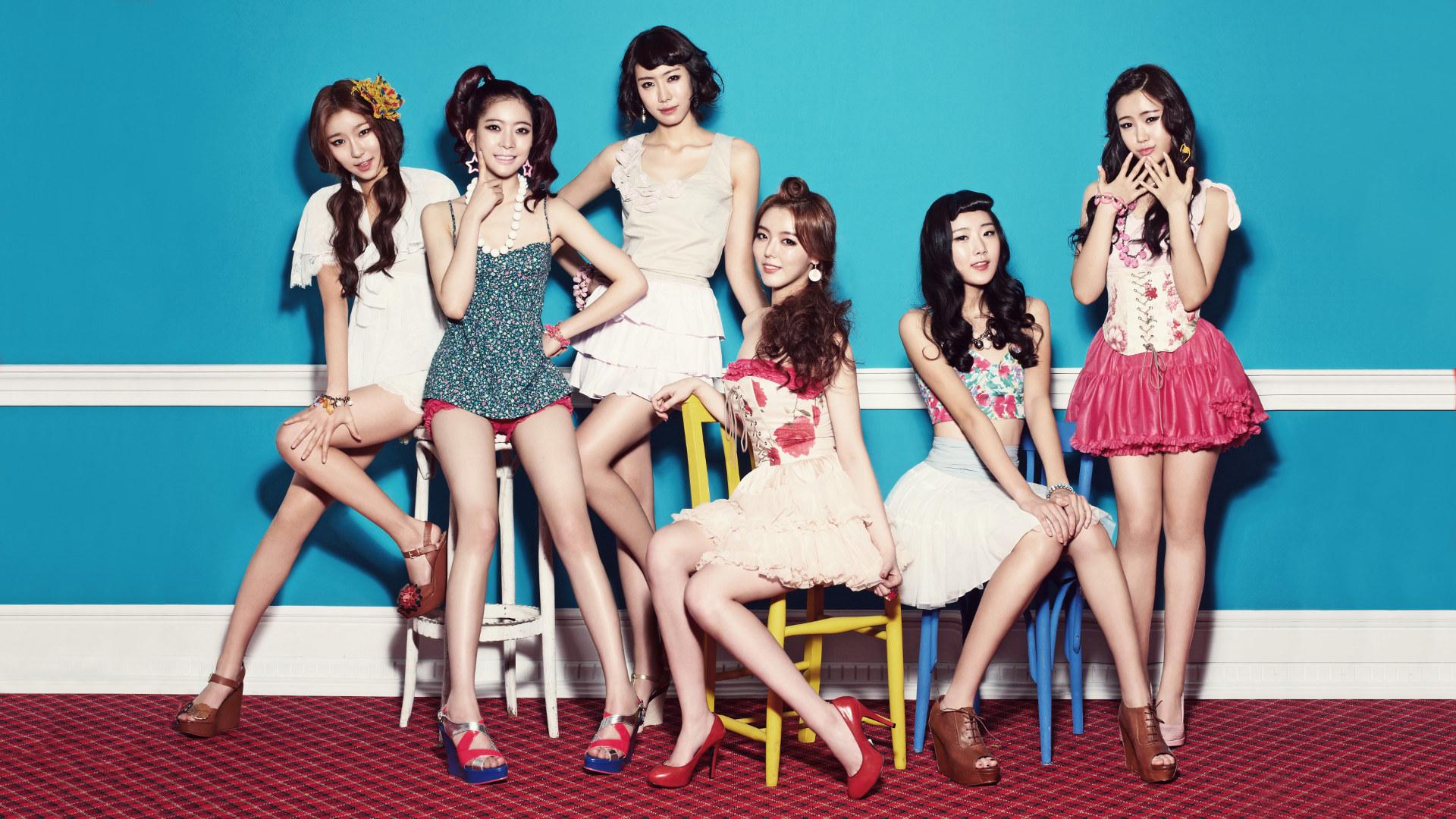 Dal Shabet Desktop Kpop Girl Band Korea wallpaper by hoantube2014 1920x1080