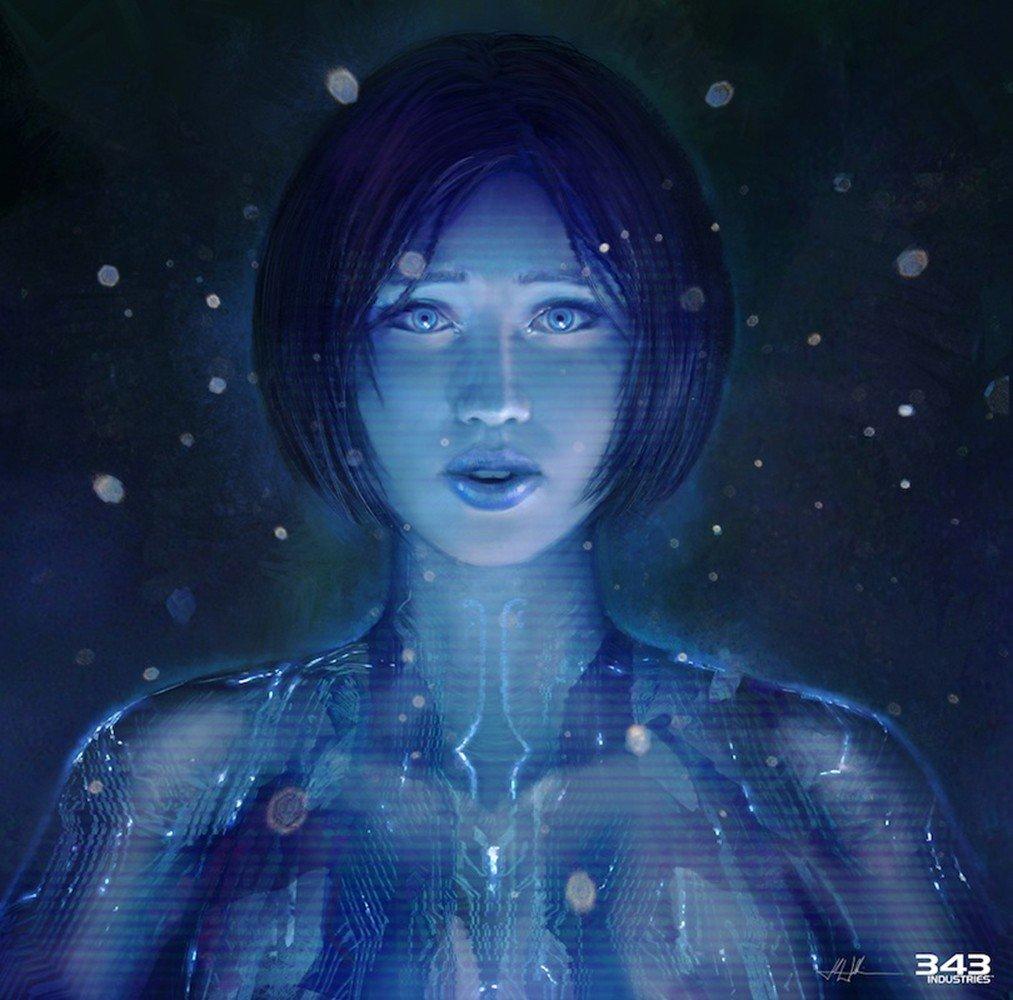 Wallpapers Cortana Halo concept art Halo 4 343 Industries 1013x1000