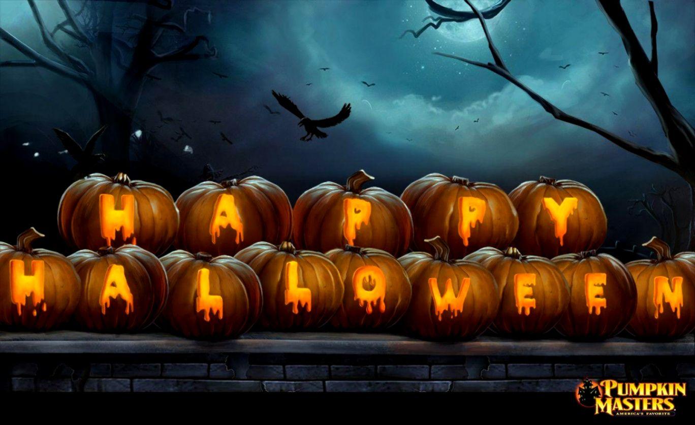 Halloween Wallpaper For Desktop Background Wallpapers 1368x837