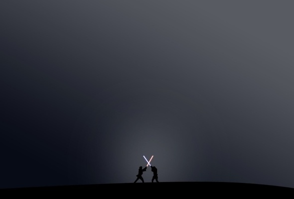 Wallpaper star wars sword Lightsaber simple desktop wallpaper 3D 590x400