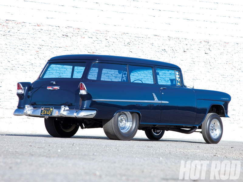 1955 Chevy Wagon Gasser Cars Chevrolet HD Desktop Wallpaper 800x600