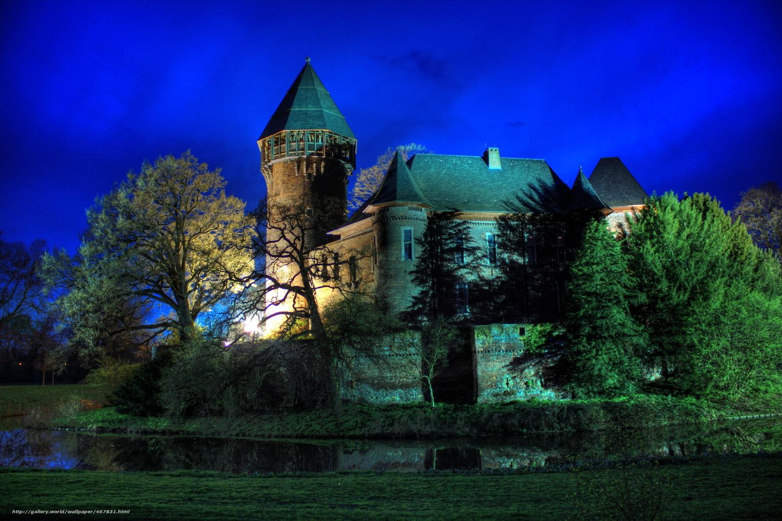 wallpaper Castles Fortress Germany krefeld   burg linn 1600x1067
