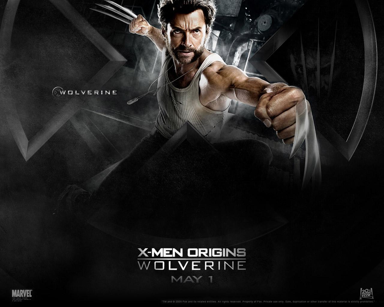 X Men Origins Wolverine TheWallpapers Desktop 1280x1024
