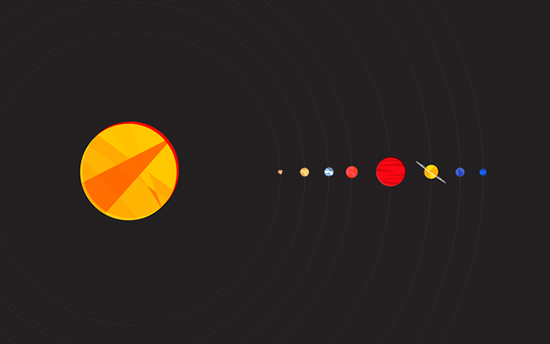 Simplify your Desktop with these 28 Minimalist Wallpapers Design 550x344