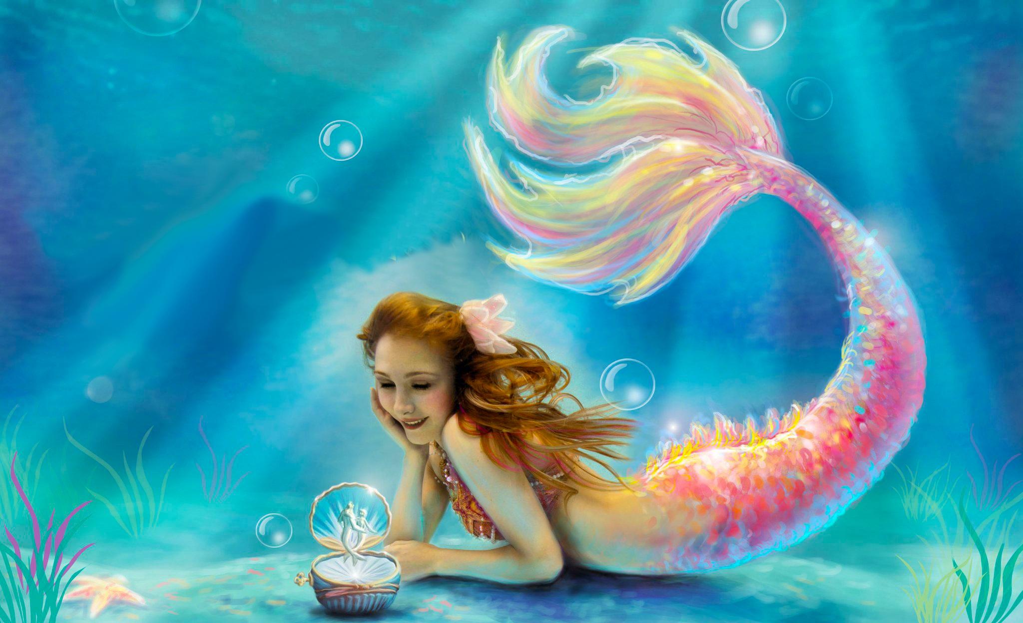 Fantasy Mermaid wallpapers Desktop Phone Tablet 2048x1248