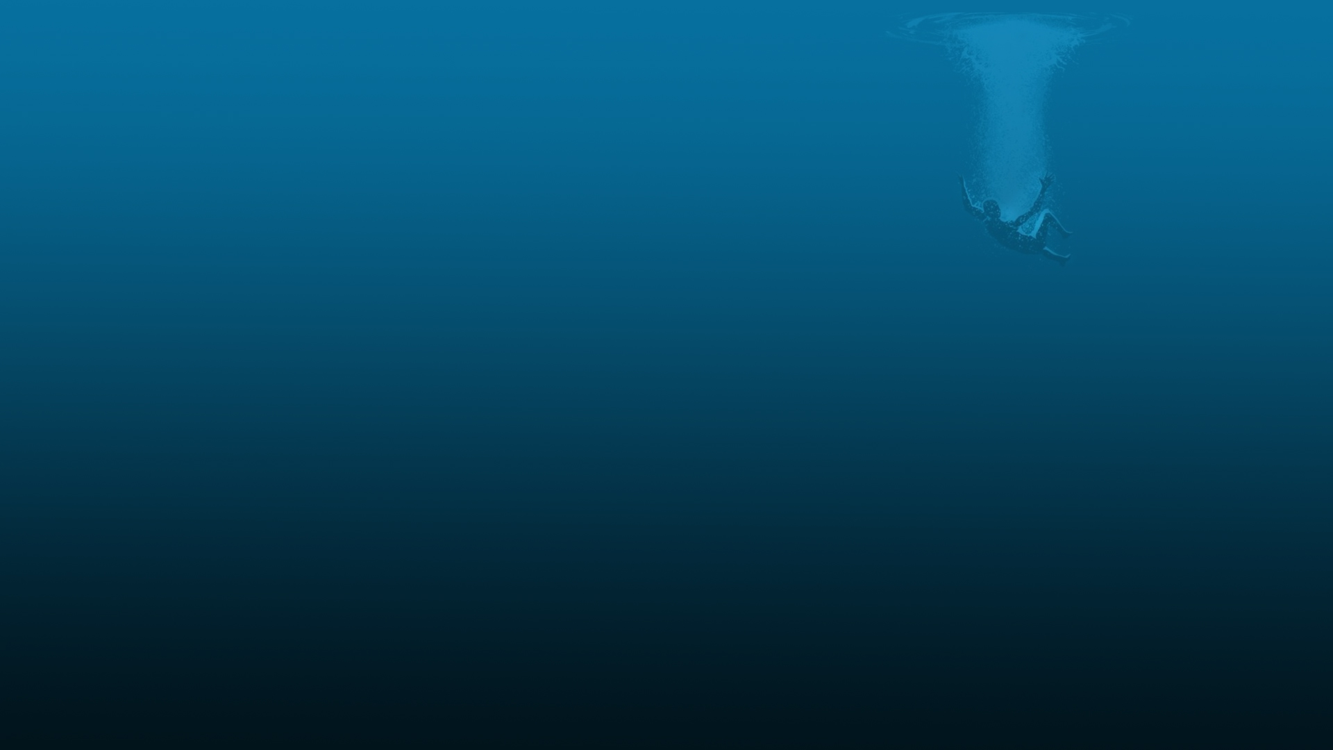 Deep Blue Wallpaper 1920x1080
