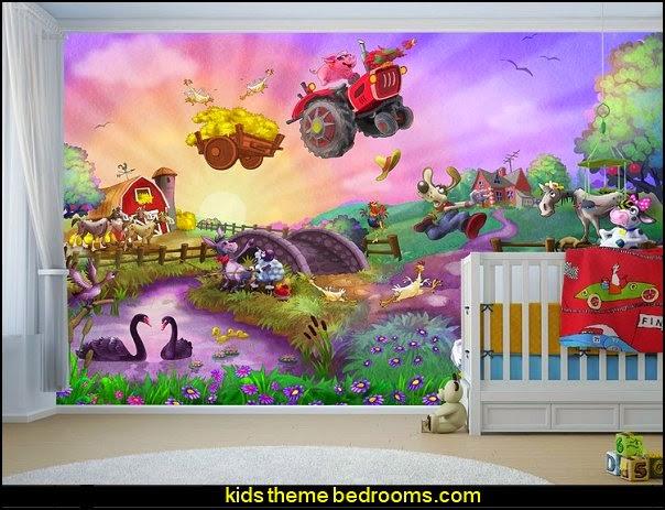 Decorating theme bedrooms   Maries Manor Farm theme bedroom 604x463