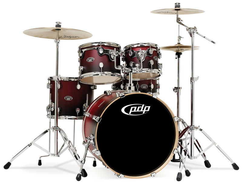PDP Kits   Pacific Drums and Percussion FS Series   Matte Lacquered 800x611