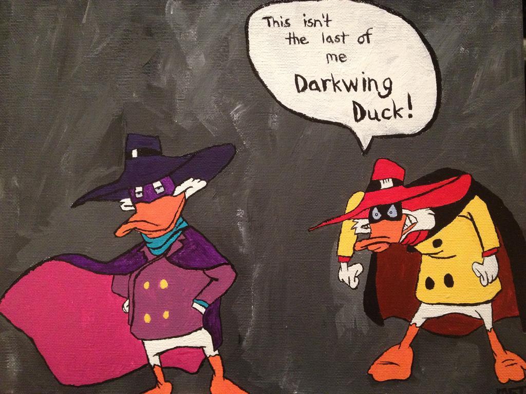 Darkwing Duck vs Negaduck by met0012 1024x768