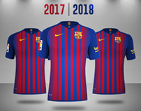 72eed1e16 FC Barcelona 20162017 Rumores Concept Kit on Behance 202x158